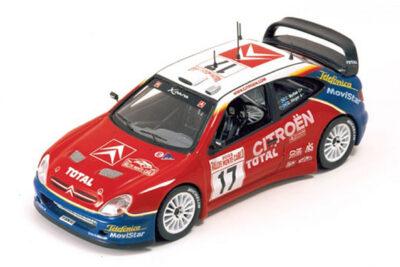 1:43 Citroën Xsara WRC | Sainz – Marti | Rally Acropolis 2005