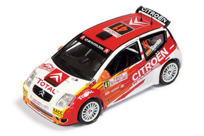 1:43 Citroën C2 S1600 | Sordo – Marti | Rallye Monte Carlo 2005
